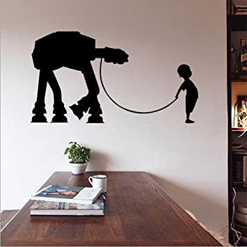 SHINA Star Wars Wall Sticker W 17 Sticker Boys Bedroom Pattern Poster Wall  Home Decor Part 59