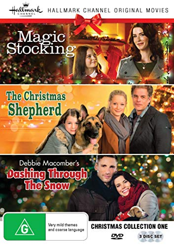 - Hallmark Christmas 3 Film Collection (Magic Stocking/The Christmas Shepherd/Debbie Macomber's Dashing Through The Snow)