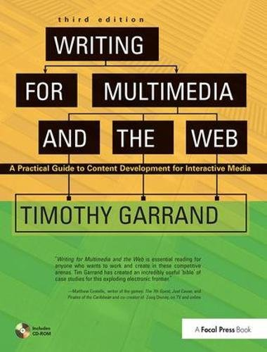 Writing for Multimedia and the Web: Content Development for Bloggers and Professionals-cover
