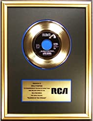Kenny Rogers & Dolly Parton Islands In The Stream 45 Gold Record Award RCA Records