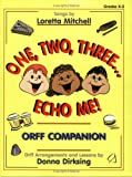 One, Two, Three, Echo Me, Donna Dirksing, 0893282340