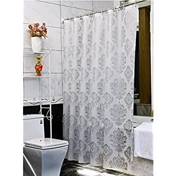 welwo stall shower curtain 36 x 72 inch home kitchen. Black Bedroom Furniture Sets. Home Design Ideas