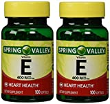 Spring Valley Vitamin E 400 IU, 100 Softgels (Pack of 2) Review