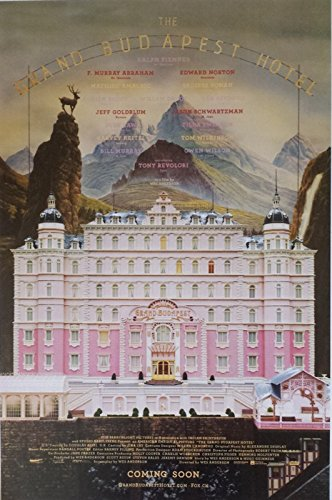 The Grand Budapest Hotel 11 x 17 Poster Lithograph