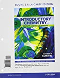 Introductory Chemistry : Concepts and Critical Thinking, Books a la Carte Edition, Corwin, Charles H., 0321804929