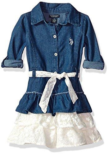 U.S. Polo Assn. Girls' Casual Dress – The Super Cheap