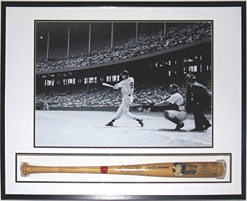 Ted Williams Autographed Signed Career Bat PSA/DNA Coa Framed Shadow Box 26X30 Photo (Autographed Bats Shop)