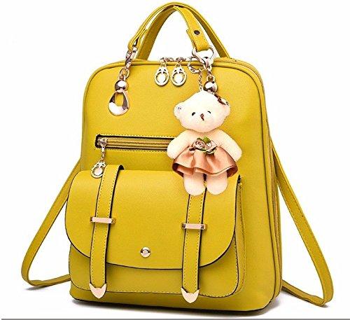 pour Femme Bandoulière et Double jaune à Mode Style Sac Sac MSZYZ 8PqYwBFU
