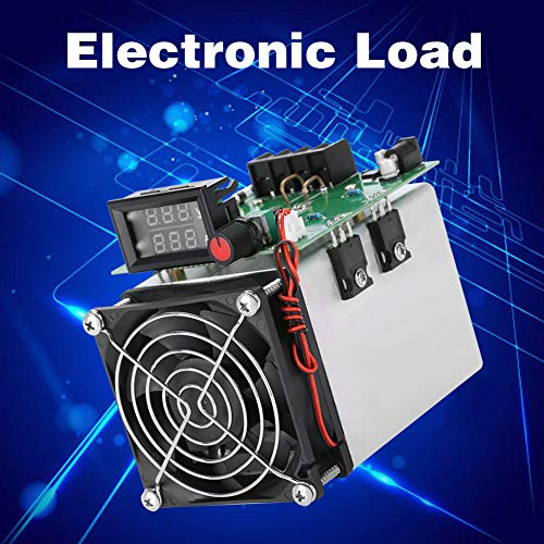 Electronic Load Module Load Discharge Discharge Board Burn-in Module Load Battery Tester for Home and Industry for DIY Use