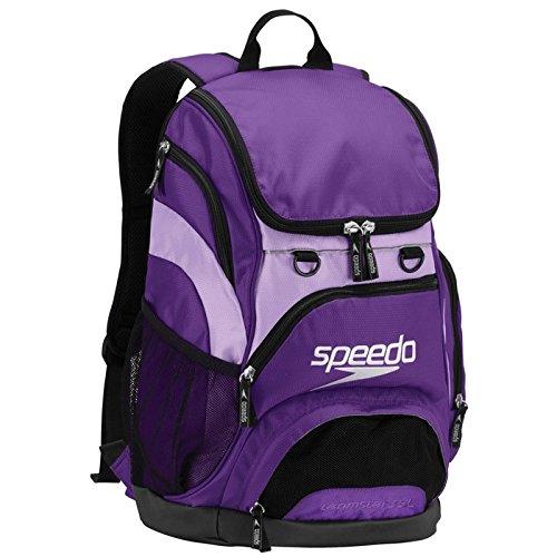 Purple 20x17x8 cm, 35L Speedo Teamster Rucksack, Unisex Erwachsene, Teamster