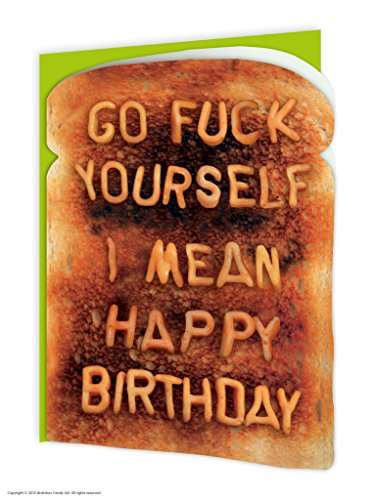 Amazon brainbox candy funny rude humorous go fuck yourself brainbox candy funny rude humorous go fuck yourself birthday greetings card m4hsunfo