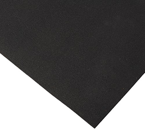 Stall Mat - Rubber-Cal Recycled Floor Mat, Black, 3/8-Inch x 4 x 10-Feet
