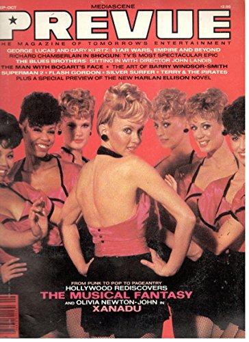 MEDIASCENE PREVUE Magazine #50 December 1982 First Blood Frank Frazetta etc.