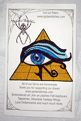 All Seeing Eye of Ra Horus Iron on Patch Iron on Patch Sew on - Applique Egyptian