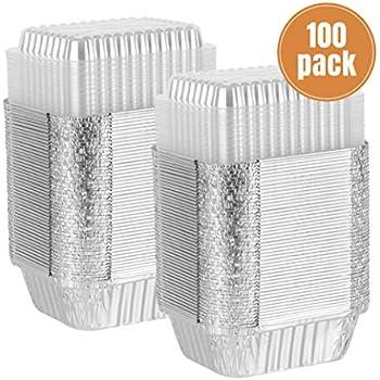 Amazon Com Party Bargains Disposable Oblong Aluminum Foil
