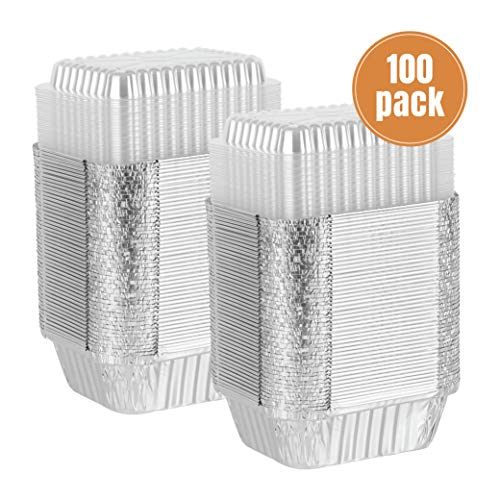 tin foil containers with lids - 6