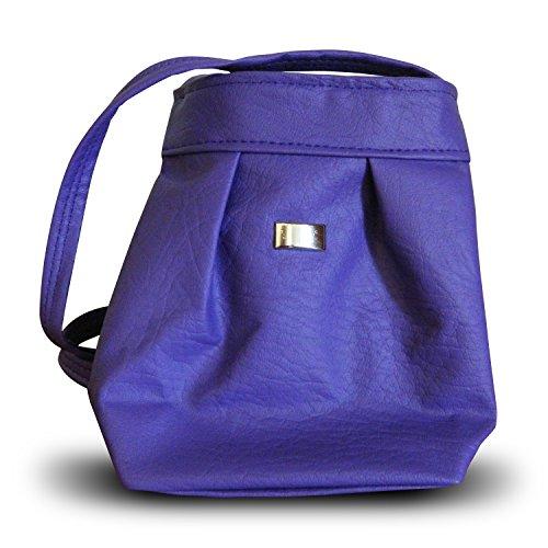 Small Shoulder Strap Tote Purse (Purple) by Handmade Mexico