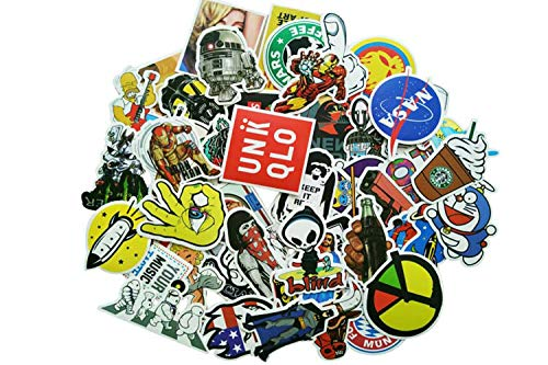 78853c8e3ad0 50Pcs Vinyl Stickers Snowboard Luggage Skateboard Shoes Decal Graphics