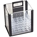 1000PC Acrylic Chip Case/ 1000 Count Chip Carrier with 10 Chip Trays by GSE