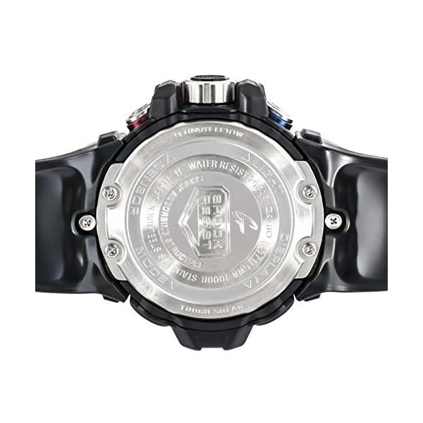CASIO Reloj Analógico-Digital para Hombre Correa en Resina GWN-1000B-1BER 7