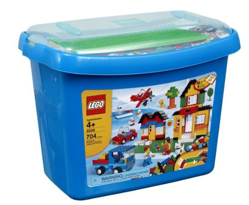 Game / Play LEGO Bricks & More Deluxe Brick Box #5508 (704 pieces). Plastic, Blocks, Puzzle, Collectible Toy / Child / Kid by WE-R-KIDS