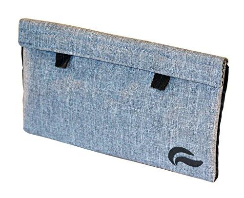 """Skunk Mr Slick Smell Proof Bag 11""""x6"""" (gray)"""