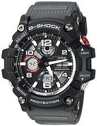Casio Men's 'G-SHOCK' Quartz Resin Casual Watch, Color Black (Model: GWG-100-1A8CR)