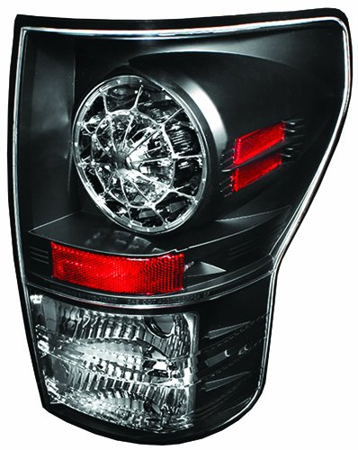 IPCW LEDT-2037B2 Toyota Tundra 2007-2013 Tail Lamps, LED Bermuda Black   B006BUOJY6