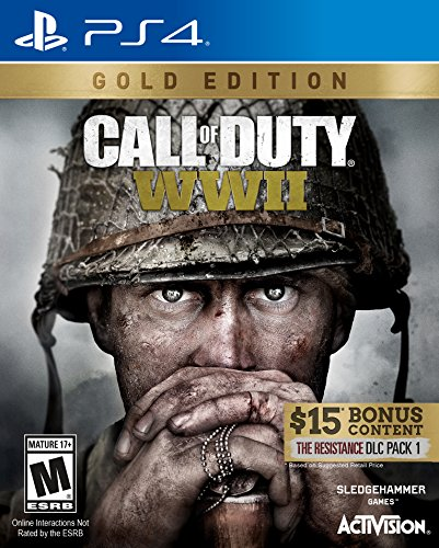 Call of Duty: WWII Gold Edition - PlayStation 4 (Call Of Duty Black World At War)