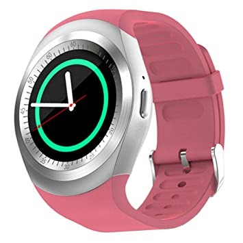 H HILABEE Smartwatch USB Reloj Inteligente Bluetooth Impermeable ...