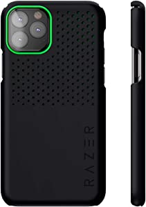 Razer Arctech Slim for iPhone 11 Pro Max Case: Thermaphene & Venting Performance Cooling - Wireless Charging Compatible - Matte Black