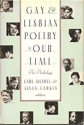 Gay and Lesbian Poetry in Our Time: An Anthology by Carl Morse (1988-09-03) by St Martins Pr