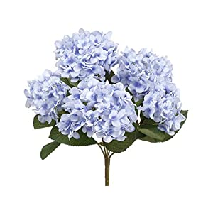 "14"" Hydrangea Bush x5 Delphinium Blue (pack of 12) 50"