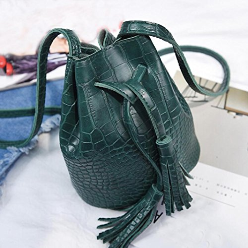 Women Cross Shoulder Large Capacity TOPUNDER Body Bags Bag Ladies for V Green Handbags SzqC4