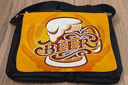 Borsa Tracolla Manifesto Birra Stampato Cuisine