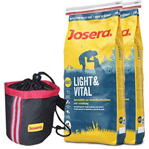 Josera 2 x 15 kg Light & Vital Knuspiebag