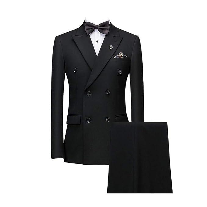 Amazon.com: Vestido de boda 2019 elegante para hombre de 3 ...