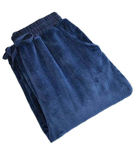 hot Fulok Mens Flannel Casual Drawstring Long Sleep Lounge Pajama Pants hot sale