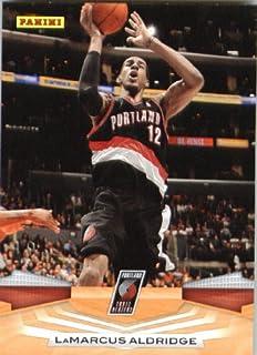 Panini 2009/10 cartes de Basketball NBA#222 LaMarcus Aldridge-Portland Trail vestons état expédié