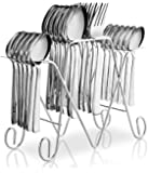 POG Anthem Stainless Steel Cutlery Set, 25 Pieces, Silver