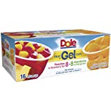 Dole Fruit in Gel Cups Variety Pack - 4.3 oz Cups - 16 pk. (pack of 6)