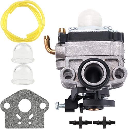 Mtd Trimmer Parts - 753-06220 Carburetor for Troy Bilt Built TB575EC TB525EC Curve Shaft Gas String Trimmer 575EC Carb MTD 753-06220A Parts Kit