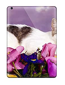 Premium Durable Lovely Cat Fashion Tpu Ipad Air Protective Case Cover