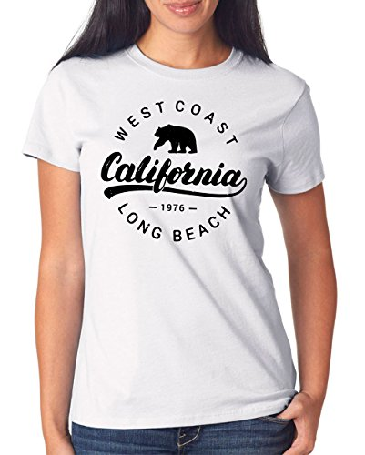 West Coast T-Shirt Girls White Certified Freak