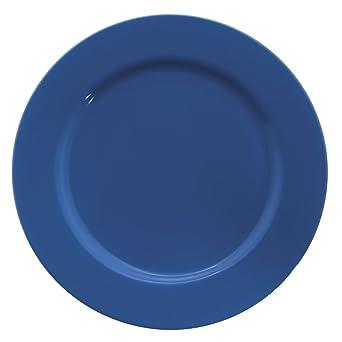 Amazon.com: Hubert Azul cena Plaste con borde ancho de ...