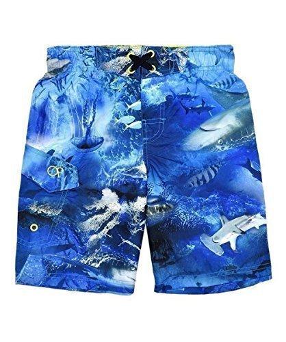 Boys Ocean Pacific Mesh Lined Swim Shorts (8 Years)