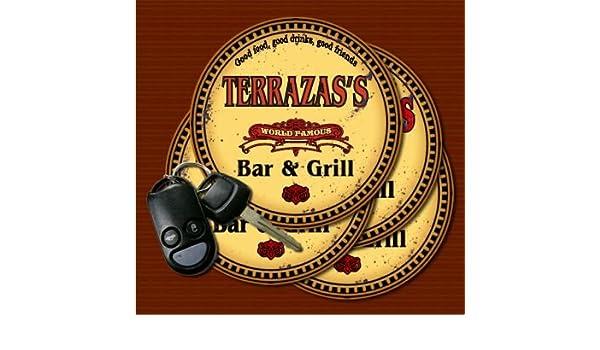 Amazon Com Terrazas World Famous Bar Grill Coasters