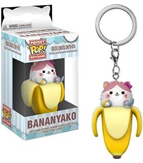 Amazon.com: Funko Pop Keychain: Bananya - Long-Haired ...