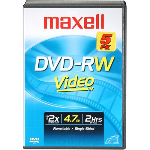 Maxell DVD-RWs (635116) (635116) by Maxell