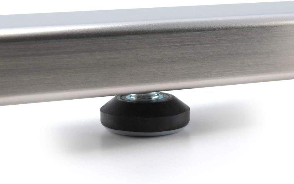 GLEITGUT 4 x Teflongleiter mit Gewinde M6 Gleitfl/äche /Ø 28 mm M/öbelgleiter PTFE Stuhlgleiter M/öbelfu/ß Stellschrauben